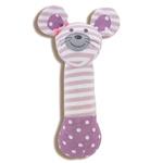 Apple Park Organic Farm Squeaky Toy Ballerina Mouse