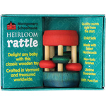 Montgomery Schoolhouse Heirloom Rattle - Mini Bead