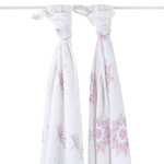 Aden + Anais Swaddle Blanket 2 Pack For the Birds