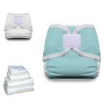 Thirsties Prefold Cloth Diaper Basic Starter Pack