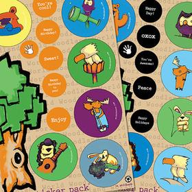 eco-kids eco-sticker pack